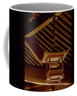 Coffee Mug featuring the photograph Kowloon - Hanging Lantern by Mark Forte