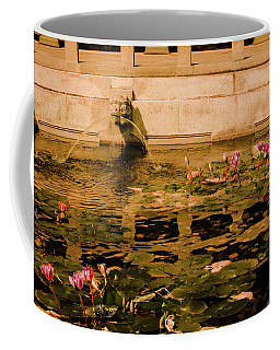 Coffee Mug featuring the photograph Kowloon - Lily Pool by Mark Forte