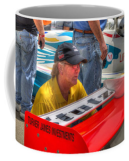 Kraig Johnson Driver Mechanic Raconteur Coffee Mug