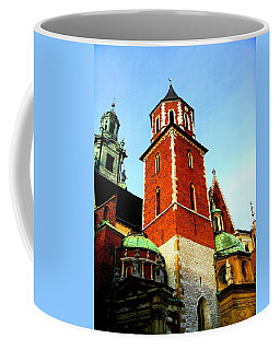 Coffee Mug featuring the photograph Krakow Poland by Michelle Dallocchio