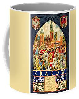 Krakow Poland - Vintage Travel Poster Coffee Mug