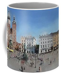 Krakow, Town Square Coffee Mug