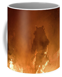 Krampus Born From The Fires Of Hell Coffee Mug