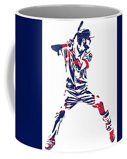Kris Bryant Chicago Cubs Pixel Art 10 Coffee Mug
