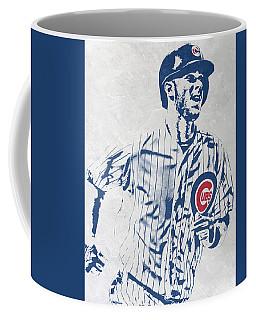 kris bryant CHICAGO CUBS PIXEL ART 2 Coffee Mug