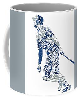 Kris Bryant Chicago Cubs Pixel Art 32 Coffee Mug