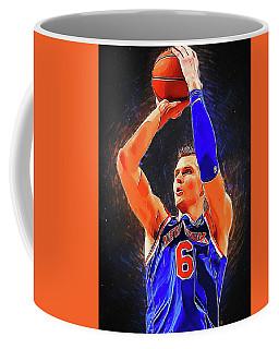Kristaps Porzingis Coffee Mug