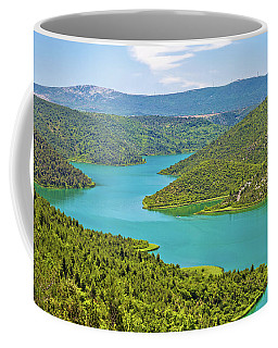 Krka River National Park View Coffee Mug by Brch Photography