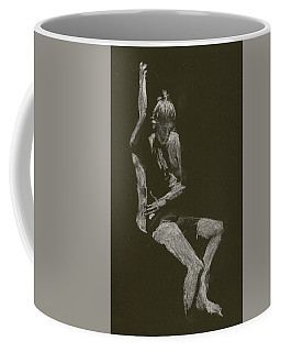 Kroki 2014 10 04_12 Figure Drawing White Chalk Coffee Mug