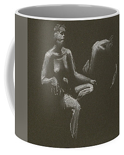 Kroki 2015 04 25 _3 Figure Drawing White Chalk Coffee Mug