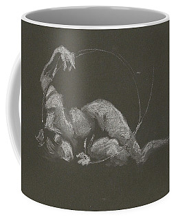 Kroki 2015 10 03_14b Figure Drawing White Chalk Coffee Mug