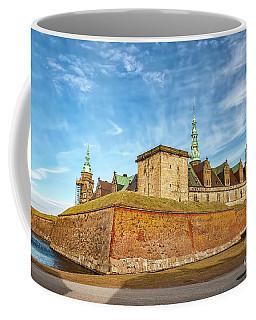 Coffee Mug featuring the photograph Kronborgsslott In Helsingor by Antony McAulay