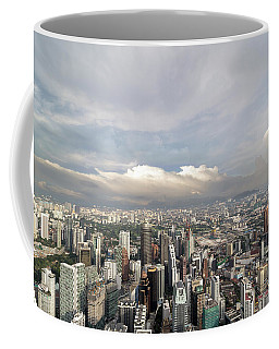 Kuala Lumpur City Aerial View Coffee Mug