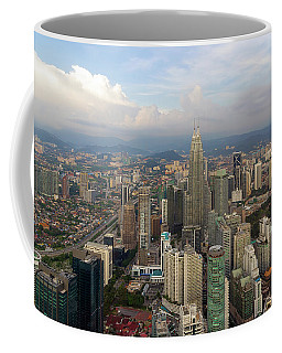 Kuala Lumpur Modern City Aerial View Coffee Mug