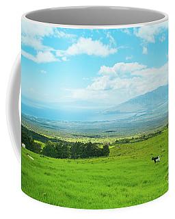 Kula Upcountry Maui Hawaii Coffee Mug by Sharon Mau
