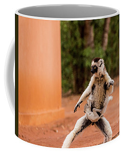 Kung Fu Mom Coffee Mug by Alex Lapidus