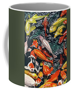 Kure Koi Pond Coffee Mug