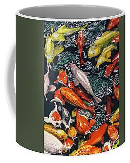 Kure Koi Pond Coffee Mug