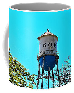 Kyle Texas Water Tower Coffee Mug