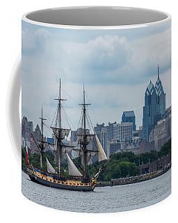 L Hermione Philadelphia Skyline Coffee Mug