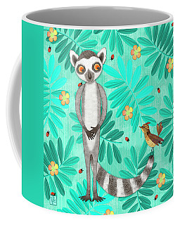 L Is For Lemur And Lark Coffee Mug