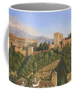 La Alhambra Granada Spain Coffee Mug
