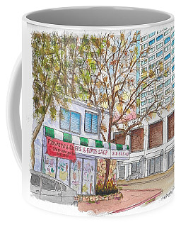 La Bella Flowers, Riverside Dr. And Screenland, Burbank, California Coffee Mug