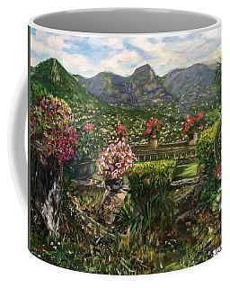 Coffee Mug featuring the painting La Belle Vence by Belinda Low