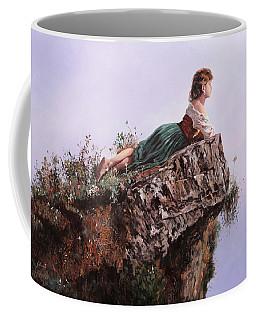 La Bimba Sulla Scoglio Coffee Mug