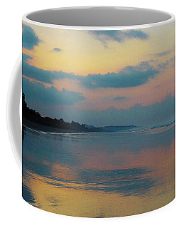 la Casita Playa Hermosa Puntarenas - Sunrise One - Painted Beach Costa Rica Panorama Coffee Mug