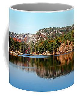 Coffee Mug featuring the photograph La Cloche Mountain Range by Debbie Oppermann