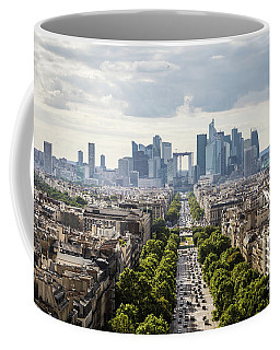 La Defense Paris Coffee Mug