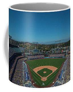 La Dodgers Stadium Baseball 2087 Coffee Mug