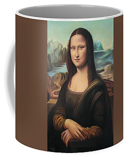 La Gioconda - Pastel  Coffee Mug
