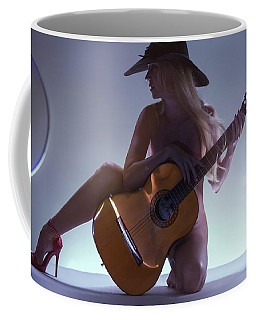 La Guitarista Coffee Mug