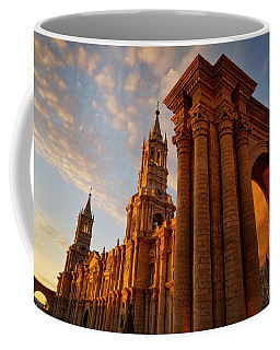 Coffee Mug featuring the photograph La Hora Magia by Skip Hunt