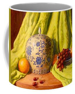 Coffee Mug featuring the painting La Jardiniere by Joe Bergholm