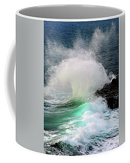 Coffee Mug featuring the photograph La Jolla Surge by Howard Bagley
