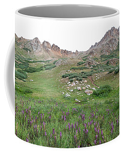 Coffee Mug featuring the photograph La Plata Peak by Cascade Colors
