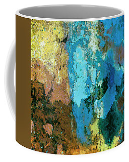 Coffee Mug featuring the painting La Playa by Dominic Piperata