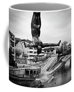 La Plongueuse Over The Midouze River Coffee Mug by RicardMN Photography