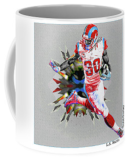 La Rams Paint Todd Gurley 5b Coffee Mug