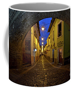 La Ronda Calle In Old Town Quito, Ecuador Coffee Mug