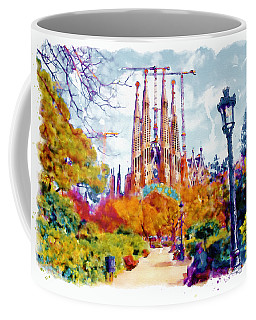 La Sagrada Familia - Park View Coffee Mug