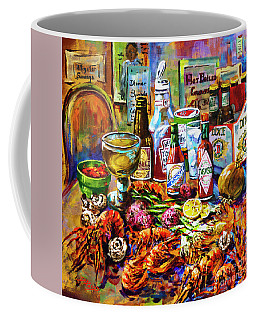 La Table De Fruits De Mer Coffee Mug