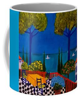 La Terasse En St Tropez Coffee Mug