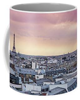 La Vie En Rose - Eiffel Tower Paris, France Coffee Mug