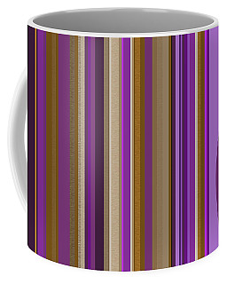 Coffee Mug featuring the digital art Large Purple Abstract - Two by Val Arie