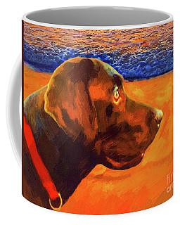 Lab At Sunset Coffee Mug