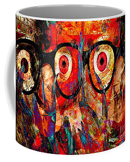 Label The Brain Through The Eyes - Lords Of Madness Coffee Mug